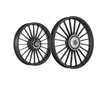 Fly Lion JMA 20 Spokes Bike Alloy Wheel Black Set of 2
