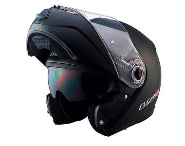 LS2 Helmet Flip-Up FF386-L Matt Black