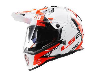 LS2 Helmet Off Road MX436-L Trigger Matt Black Red