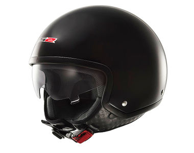 LS2 Helmet Open Face OF561-L Matt Black