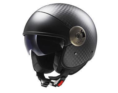 LS2 Helmet Open Face OF597-L Carbon