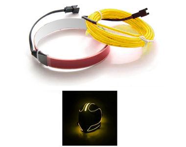 Speedwav Helmet LED Light Custom Design Flexible Electron Kit-Yellow