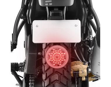 Speedwav Bike Concentric Round LED Brake Light Red