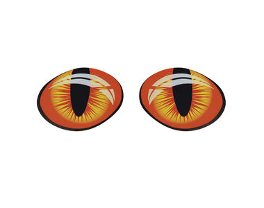 Speedwav Car Boot/Dicky 3D Sticker-Spooky Cats Eye
