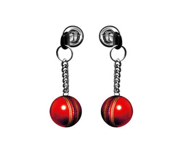 Speedwav Car Boot/Dicky 3D Sticker-Ball Hanging with Chain Set of 2