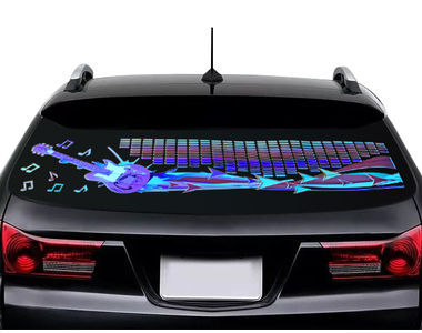 Speedwav Speedwav Car Music Sensor Rhythm Equalizer LED Light Sticker-Guitar