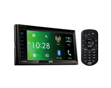 JVC KW-V320BT Car Stereo 6.8 inch CD/Bluetooth/Rear USB/Aux Touch Panel