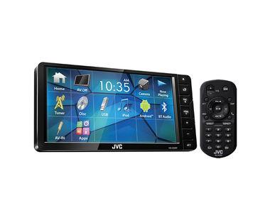 JVC KW-V520BT Car Stereo 7-inch Bluetooth DVD/CD/USB Touchscreen
