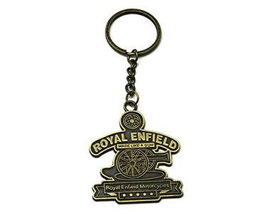 Royal Enfield Keychain-Titanium Gold