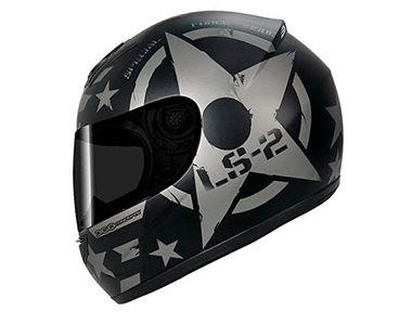 LS2 Helmet FF352 Combat Matt Black