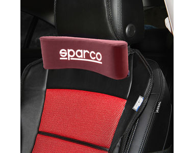 Sparco Comfy Neck Cushion-Wine Red