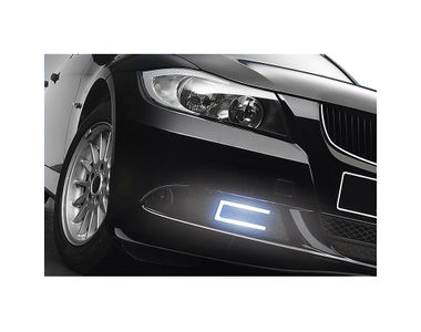 Speedwav Slim Daytime LED DRL Set of 2 U Shape-Blue