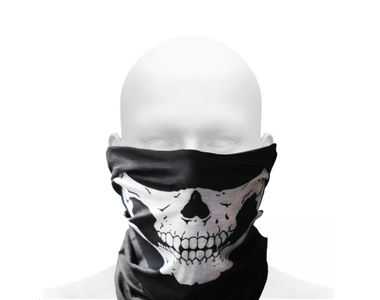 Speedwav Anti-Pollution Stylish Skull Half Face Mask