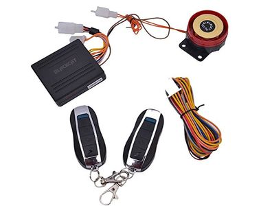 Speedwav Blackcat Bike Security Alarm System with Remote