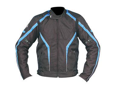 Biking Brotherhood iRideiLive Riding Jacket Black & Blue