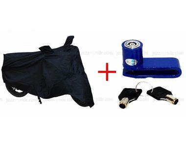 Speedwav - Bike Safety Combo - Disc Lock+ Body Cover