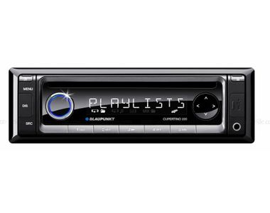 Blaupunkt - Cupertino 220 - CD USB and iPod Compatible In-Car Stereo (Single DIN)