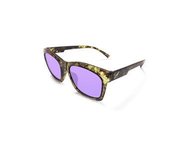 Jazzmyride M1376 Reflective Wayfarer Polarized Sunglasses-Camouflage