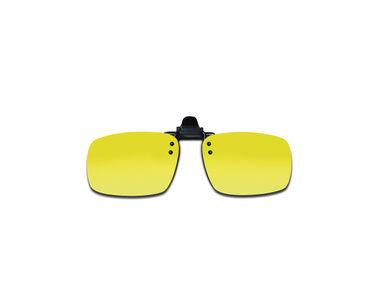 Jazzmyride K06Y Yellow Clip-On Polarized Sunglasses