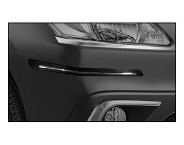 Buy Speedwav Black and Chrome Bumper Scratch Protector ...