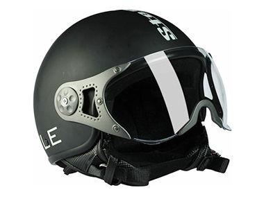 Steelbird Bike Riding Helmet - SB-27 Style Matt Black