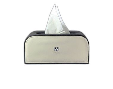 Speedwav Custom Design Car Tissue Box Black & Beige -Honda