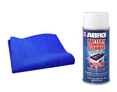 Speedwav Car Cleaning Kit Abro Battery CleanerBC-575(142gm)+Microfiber Cloth