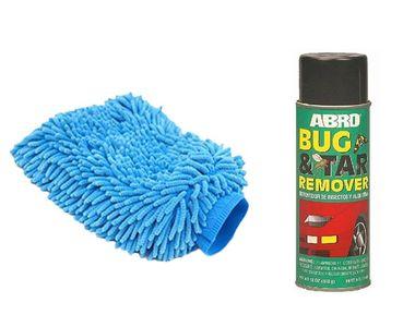 Speedwav Car Cleaning Kit Abro Bug & Tar Remover BT422 +Microfiber Glove