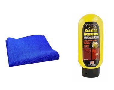 Speedwav Car Cleaning Kit Scratch Remover SR800(240ml)+Microfiber Cloth