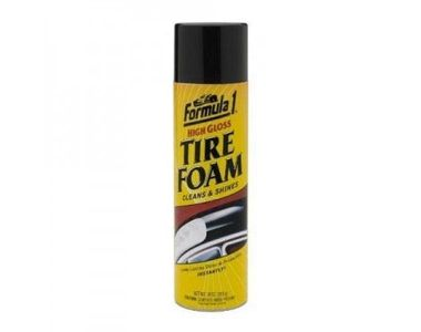 Formula 1 Foam Car/Bike Foam Rubber / Tyre Shiner
