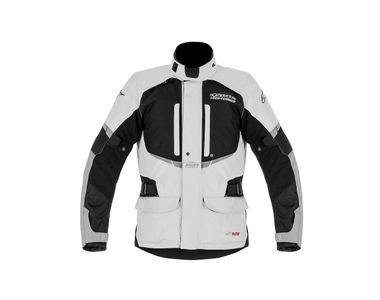 Alpinestars Andes Drystar Bike Riding Jackets-Grey & Black