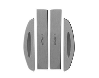 i-pop Cushion Grey Car Door Scratch Guard Protector Pack of 4