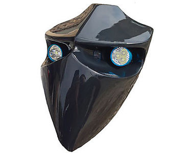 Saiga Bike Devil Type Headlamp with LED Lights for All Bikes