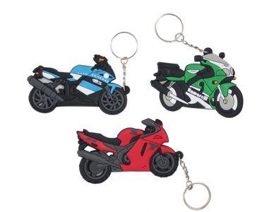 Set of 3 Superbike Keychain/Keyring for Your Bike/Scooty/Car