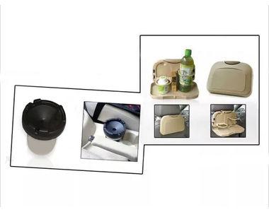 Combo of Speedwav Car Dining Tray-Beige & Portable Cigarette Ashtray