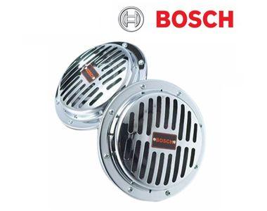 Bosch Car Impact Chrome Horn 187 (Set of 2)