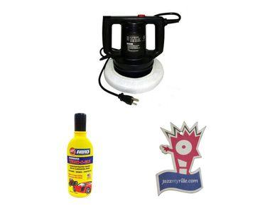 Coido 6016 Heavy Duty Car Polisher Machine + Shampoo 100ml+Jazzy Perfume