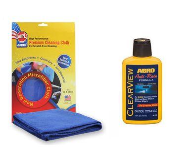 ABRO Clearview Anti Rain AR -180 (103 ml)+Microfiber Cloth