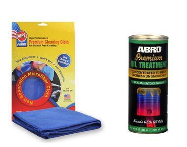 ABRO Premium Oil Treatment OT-511 (443ml)+Microfiber Cloth