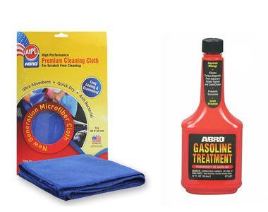 ABRO Gasoline Treatment GT-507 (354ml)+Microfiber Cloth
