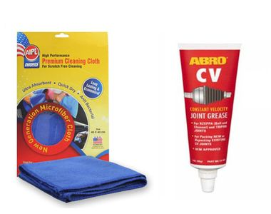 ABRO CV Joint Grease CV-503 (90 gm)+Microfiber Cloth