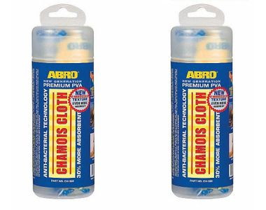 ABRO Chamois Cloth CH 550 (Set Of 2)
