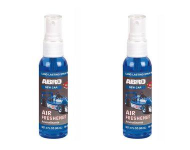 Abro Car Spray Mist Air freshener/Perfume New Car (SM-557-NC)-60ml(Set of 2)