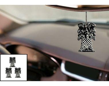 Abro Car Hanging Perfume (AF-457-IC)- ICE (Set of 3)