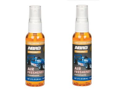 Abro Car Spray Mist Air freshener/Perfume Coconut(SM-557-CO)-60ml (Set Of 2)