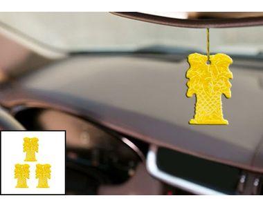 Abro Car Hanging Perfume (AF-457-JA)- Jasmine (Set Of 3)