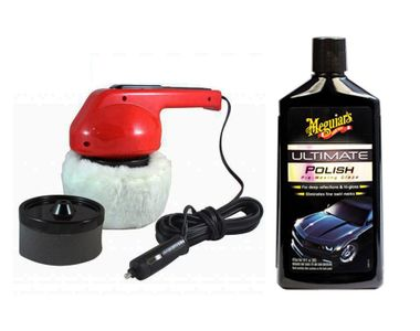 Meguiars Ultimate Polish-473ml + Coido 6003 Car Polisher