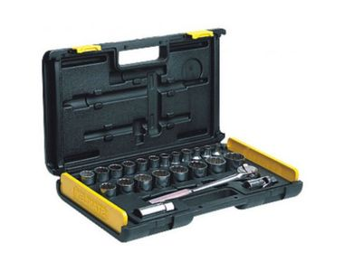 Stanley Mechanic Tools Kit Socket Set (26 Pcs)- 86-477