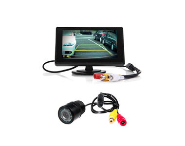 Speedwav 4.3 Inches LCD TFT Monitor & LED Reverse Parking Camera