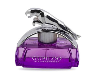 Accedre Gupiloo Chrome jaguar Refillable Car Perfume 80ml - Lavender